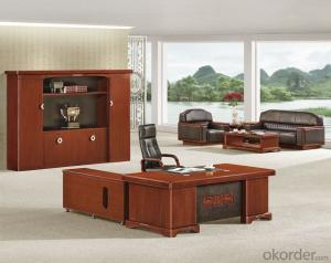 Office Executive Desk with Vaneer Painting
