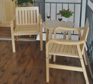 Sun Lounger Chairs Solid Teak Wood Outdoor Garden Furniture