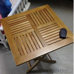 Poly Wood Round TableOutdoor Furniture Patio Teak Wood Garden Furniture