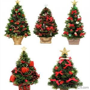 Artificial Christmas Tree with Colorful Design from CNBM