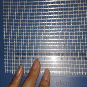 Alkali Resistant Coated Fiberglass Soft Mesh 120g/m2 5*5mm  High Strength