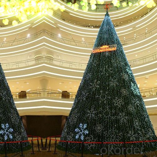 Artificial Christmas Tree 10FT Giant Plants with LED Lights