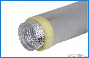 One Layer Aluminum Flexible Duct for HVAC