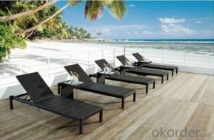 Rattan Furniture Sun Lounger Sand Beach Chair