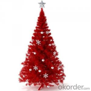 Christmas Tree PVC Artificial Plants for Decorations on Plaza