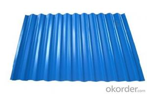 Colorful Corrugated GI Galvanized Steel Sheet
