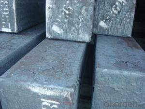 Continue Casting Steel Billet Manufactured by Blast Furnace