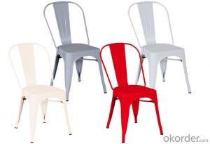 Dinning Chair Plastic & Wood & Metal Model CMAX-PP842