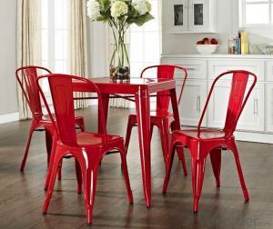 Dinning Chair Plastic & Wood & Metal Model CMAX-PP823