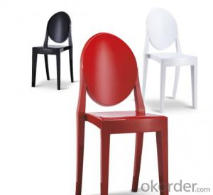 Dinning Chair Plastic & Wood & Metal Model CMAX-PP801