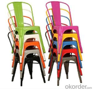 Dinning Chair Plastic & Wood & Metal Model CMAX-PP627