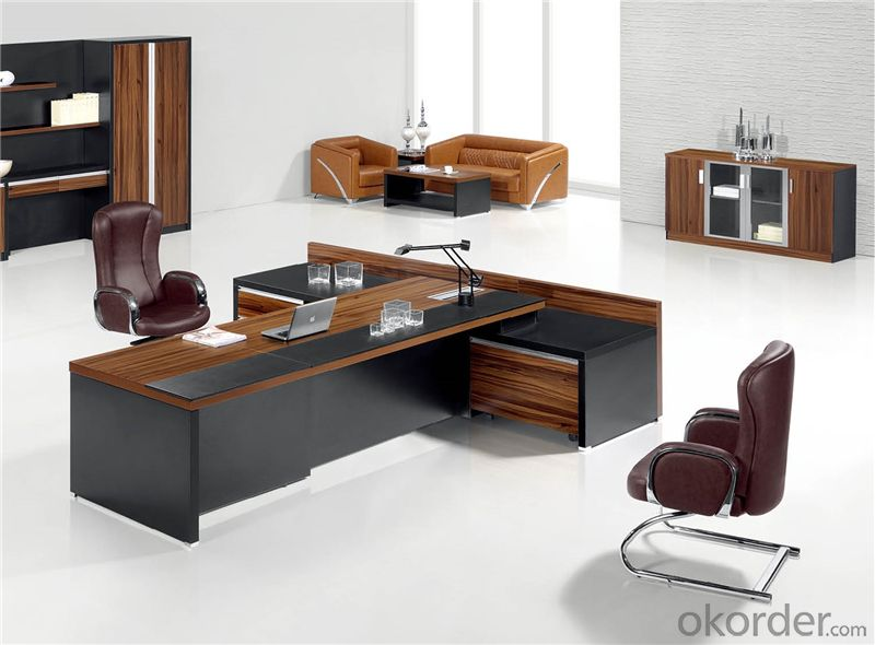 Commercial Executive Table with Environmental Material