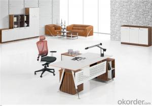 Commercial Executive Desk with MFC Board