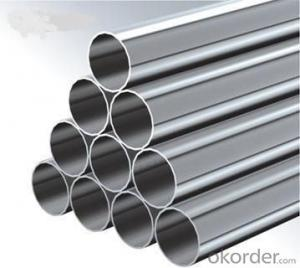 304 stainless steel welded polished pipe