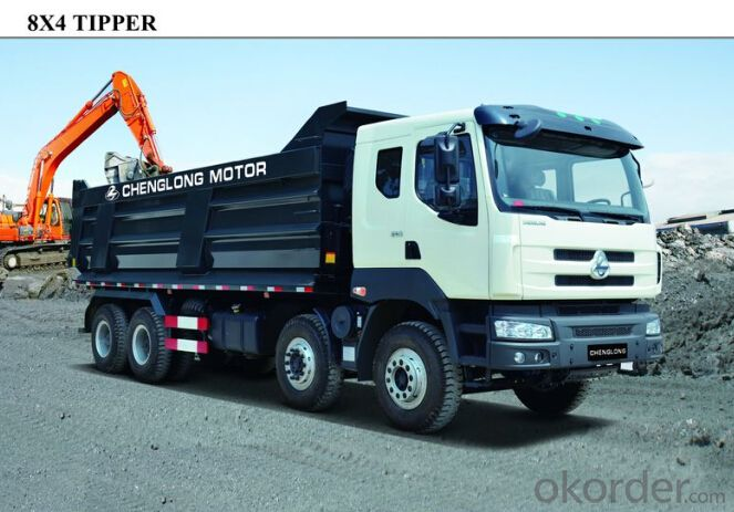 Chenglong Motor 8*4 Tipper with High Efficiency