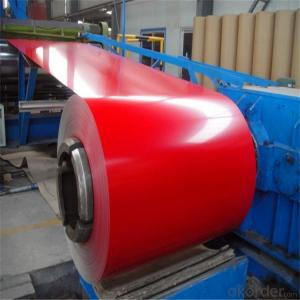 Aluzinc PPGI Exterior Decorative Prepainted Galvanized Steel Coil