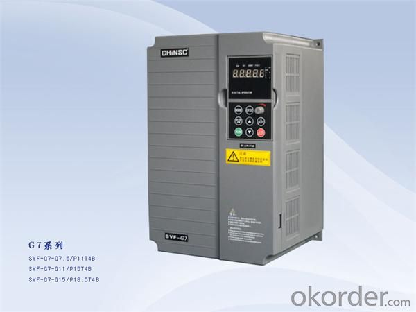 variable frequency inverter 7.5kw  Chinsc industrial frequency inverter