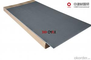 Cement Backer Board with Core XPS and Cement Coat