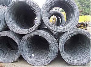 SWRH42A 42B 57A Galvanized Steel Wire Rod