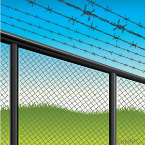 Hot dip/ Electric galvanized Double Twist Barbed Wire Fencing Real Factory (ISO)