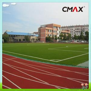 Eco-friendly Soccer Artificial Grass high Burning Resistance Fake Lawn with Stem Shape