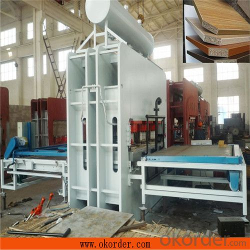 Multilayer Laminating Hot Press Machinery for Core-board