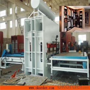 Automatic Melamine Ecological Plate Hot Press Machine