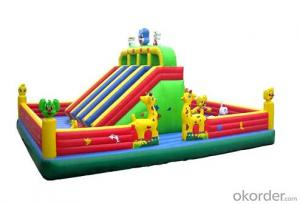 Inflatable Castle with the ture ,funny style