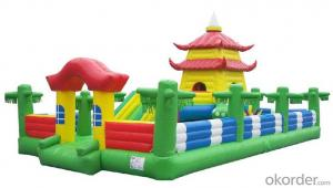Promotional Inflatable Castle with the new Slide