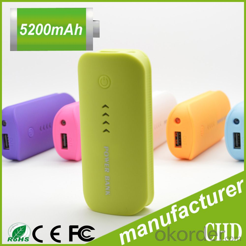 Colorful Portable Mobile Power Bank, Useful Mini Mobile Power Charger
