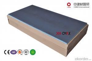fiberglass mesh reinforced tile backer board roof board
