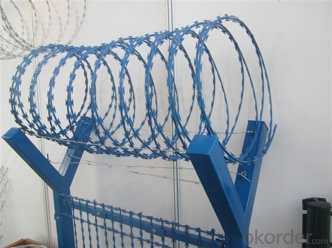 Galvanized Concertina Razor Wire for Fence with (CE and SGS)