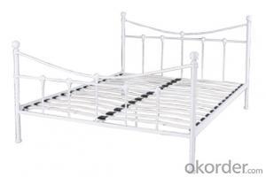 Metal Bed European Style Model CMAX-MB011