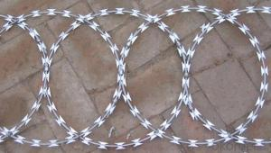 Razor Wire In Galvanized And PVC Coated China Supplier High Quality Galvanized Razor Barbed Wire