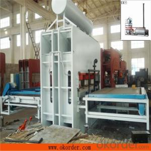 MDF Board Wood Decorative Furniture Moulding Machine