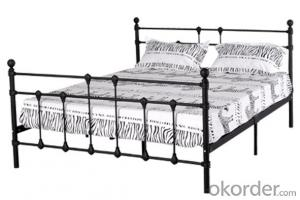 Metal Bed European Style Model CMAX-MB009