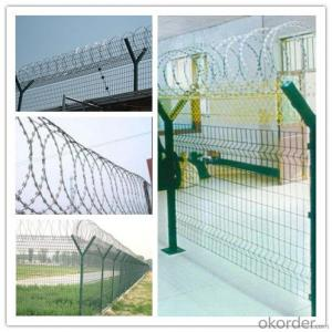 Hot-Dipped Galvanized And Electric Galvanized Razor Barbed Wire (razor-126)