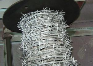 Galvanized Barbed Wire/Double Twist All Size 100% Factory Price Double Twist Galvanized Barbed Wire