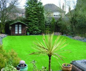 Recycled Professional Home Decking Artificial Grass
