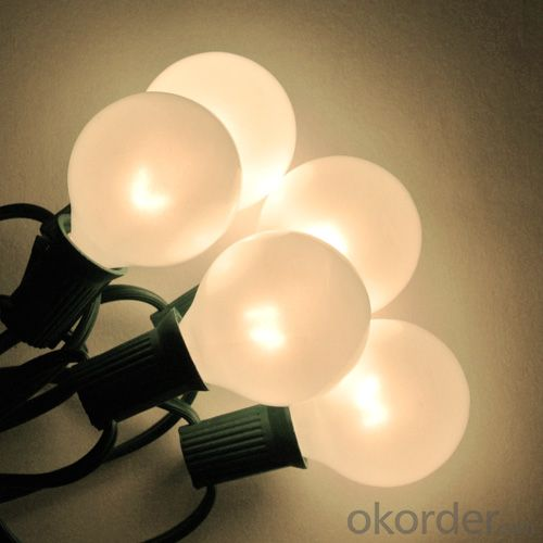 Filament Edison Diammable Led Bulb/String Lights for Party/Garden