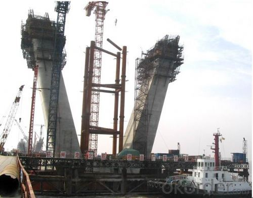 Auto-climbing Formwork with Hydraulic system for tower building