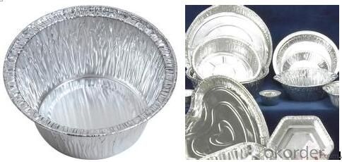 Aluminium Round Foil for Baking Trays Material