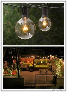 Vintage Adison Diammable Led Bulb Lights with UL,CE Certification