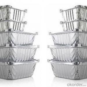 Aluminum Foil for Food Packaging/Aluminium Foil Container HHF