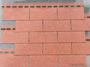 Bitumen Fiberglass Fish Scale Asphalt Roofing Tile