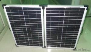 40W Mono Solar Module with Good Price and High Efficiency