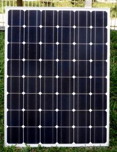 120KW CNBM Monocrystalline Silicon Panel for Home Using