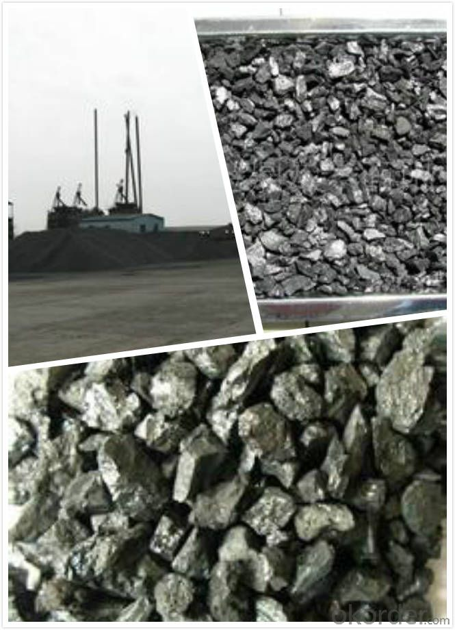 China Supplier Calcined Anthracite for Steelmaking Industry
