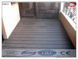 WPC Interlocking Composite Decking Tiles