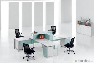 Working Table Office Station MDF Material